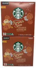 STARBUCKS Pumpkin Spice Coffee K-Cup(s) 64 count Best By May 2020