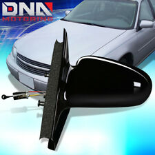FOR 1996-2002 SATURN SL SW OE STYLE MANUAL LEFT SIDE VIEW DOOR MIRROR 21170589