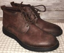 Todd Welsh Mens Brown Dante Lace Up Comfort Shoes Size 9.5