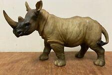 More details for naturecraft large rhinoceros statue bnib rhino ornament figurine