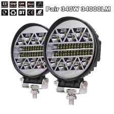 2Pcs 340W 34000LM LED Work Light Flood Spot Beam Offroad 4WD Driving Fog Lamp