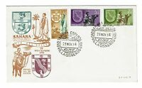 Spanish Sahara 1956 Semi Postal First Day Cover - Z220