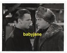 NEIL HAMILTON FRANCIS X. BUSHMAN VINTAGE 8X10 PHOTO 1928 THE GRIP OF THE YUKON