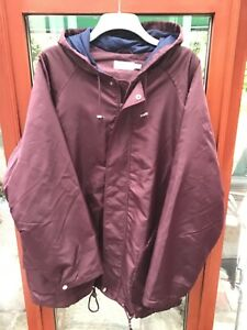 New Men's Jacket Water Resistant/ Windproof Removable Lining Size 46/48 Chest