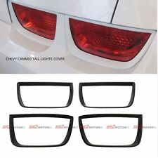 TAIL LIGHTS LAMP PAINTABLE ABS FRAME BEZEL COVER 3M FITS FOR CHEVY CAMARO