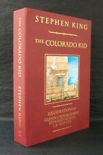 THE COLORADO KID Stephen King DELUXE TRAYCASED SIGNED LIMITED Glenn Chadbourne