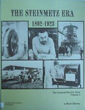 PHOTO HISTORY OF GENERAL ELECTRIC 1892-1923 (STEINMETZ ERA) 1977 BOOK