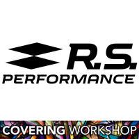 Sticker logo Renault Sport RS Performance une teinte 15cm