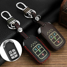 Genuine Leather Car Key Case for Honda Odyssey Key Cover Holder