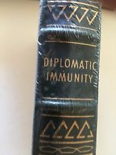 DIPLOMATIC IMMUNITY Easton Press Lois Bujold  Signed  First Edition Sealed Mint