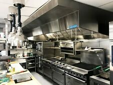 11 Commercial Kitchen Wall Canopy Hood Exhaust Fan And Supply Fan Package
