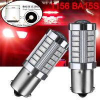 2x 1156 BA15S 33 LED 5730 SMD Rücklicht Bremslicht Rückfahrlicht Auto Birne 12V