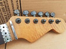 80's Warmoth Str * t neck-Flamed Maple-Made in USA