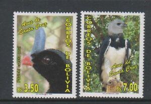 Bolivia - 2006, Birds of Santa Cruz set - MNH - SG 1738/9