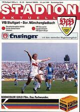 BL 88/89 VfB Stuttgart - Borussia Mönchengladbach, 10.06.1989 - Jürgen Klinsmann