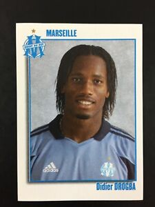Didier Drogba Rookie RC Sticker Panini Foot 2004 #186 / OM