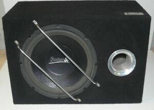 CAISSON DE BASSE REFLEX  STRAIGHTIN SUBWOOFER 30 cm .( 300 Watts pas sur ).
