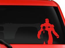 "Iron man Tony Stark Avengers Marvel superhero  car SUV decal sticker 8"" RED"
