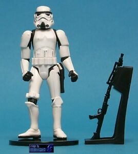 STAR WARS POTF LOOSE ULTRA RARE COMMTECH CHIP STORMTROOPER WITH BLASTER DAMAGE.