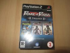 Prince of persia  trilogy  pack limited edition ps2 games pal