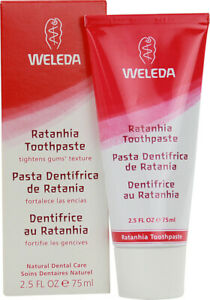Pink Toothpaste with Ratanhia by Weleda, 2.5 oz