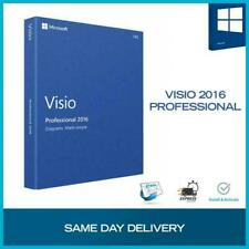 Genuine MS Visio 2016 Professional Product Key 32/64 bit+Download LINK