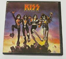 KISS DESTROYER REEL TO REEL TAPE 1976