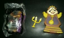 Beauty and the beast toy lot mcdonalds lumiere cogsworth the beast walt disneys