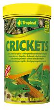 Tropical Crickets - Gefriergetrocknete Heimchen für Reptilien 250ml