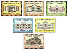 TURKEY 2005, OFFICIAL STAMP WITH THEME OF POSTAL BUILDINGS, MNH