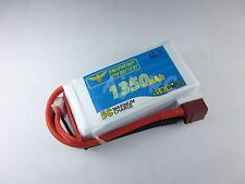 1350mAh 3-Cell 11.1V 40C LiPo Battery with Deans for RC Airplane Helicopter
