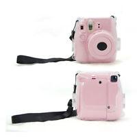 Plastic Transparent Camera Shell Case Cover Bag For Fuji Fujifilm-Instax Mini 8#