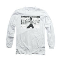 BRUCE LEE TRIUMPHANT Licensed Adult Men's Long Sleeve Graphic Tee Shirt SM-3XL