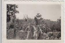 (f27901) ORIG. foto soldati tedeschi in Italia 1943, il Etna