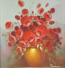 Acrylic Medium (up to 36in.) Floral Art Paintings