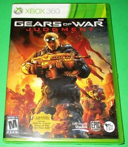 Gears of War: Judgment Microsoft Xbox 360  *Factory Sealed! *Free Shipping!