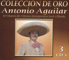 Antonio Aguilar El Charro de Mexico  Interpreta a Jose Alfredo JImenez 3CD New