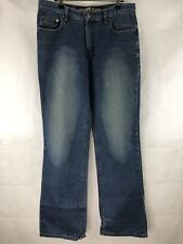 Mustang Jeanswear Jeans Mens Size 32 / 82 Blue Denim Stonewash D32