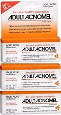 Acnomel Adult Acne Medication 1.3oz ( 3 pack ) PHARMACY FRESH!