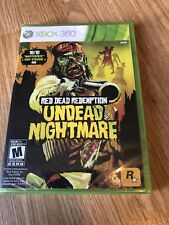 Red Dead Redemption: Undead Nightmare (Microsoft Xbox 360, 2010) Sealed New ES