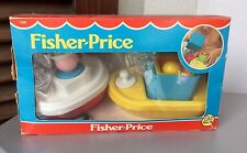 1984# RARE FISHER PRICE ART 130# SAILOR & FERRY BOAT #NIB PLAYSE