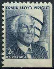 USA 1966 SG#1261, 2c Indigo, F.L. Wright Definitive MNH #E2011