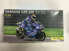 Heller Yamaha YZR 500 Model Kit Oliver Jacque Scale 1/24, Nuevo