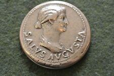 reprodution monnaie ANTIQUE  ANTONIA  poids 54 GR 30 voir !!bronze ou cuivre