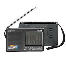 DEGEN DE1103 Digitaler Radio Receiver Weltempfänger FM/SW/MW/LW SSB