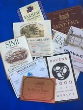 40 FRENCH, AMERICAN & ITALIAN WINE LABELS - new