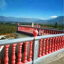 60cm Roman Column Railing Concrete Plaster Fence Casting Mould Balustrades Mold