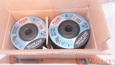 """Pearl Abrasive DC4510T 4-1/2""""x1/4""""x7/8"""" Depressed Center Grinding Wheels - 25pc."""