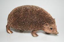 Hedgehog Snuffles Walking Bronze Cast Figure Frith Sculpture TM43 Thomas Meadows