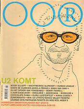 MAGAZINE OOR 2001 nr. 14/15 - U2/MISSY ELLIOTT/YONDERBOI/INDIA ARIE/GURU